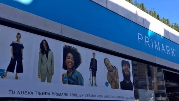 Primark obrirà la seua tenda a València aquest estiu