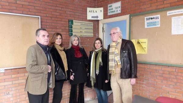 Parlamentarios del PP visitan un centros de formación de empleo