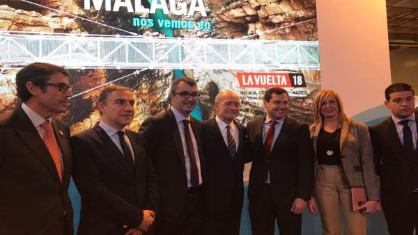 Presentación de La Vuelta Ciclista a España en Fitur  2018 ciclismo