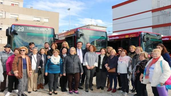 Nuevos autobuses de Tussam