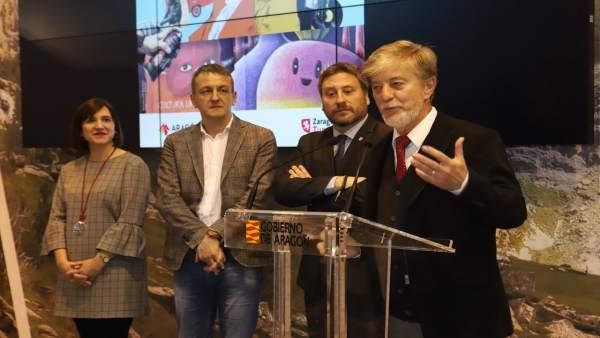 Intervención del alcalde de Zaragoza en Fitur 2018