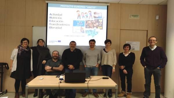 Reunión de socios del proyecto POCTEFA.