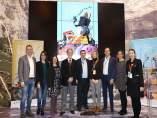 Presentación de la campaña 'Zaragoza tiene mucho genio', en Fitur
