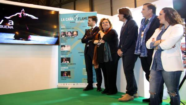 Presentación en Fitur del festival 'La Caña Flamenca'