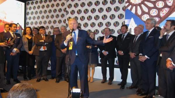 El alcalde de León, en el acto de traspaso de la capitalidad gastronómica