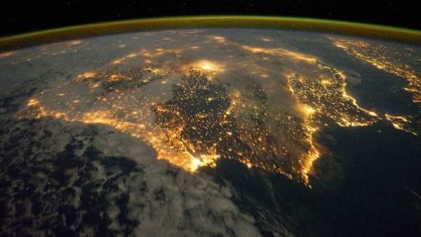 España desde el espacio