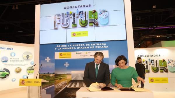 Firma del protocolo de colaboración