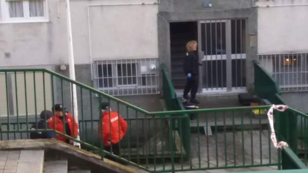 Encuentran los cadáveres de dos ancianos en Bilbao
