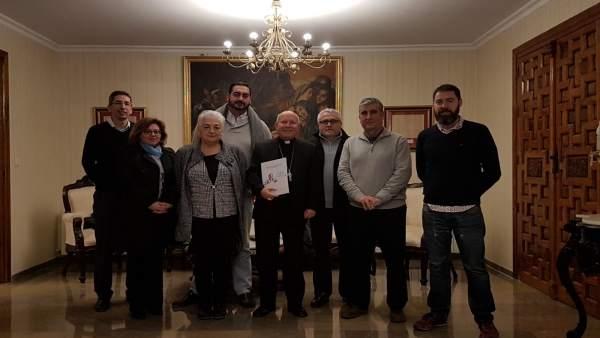 Reunión con el obispo de Jaén