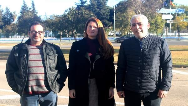 Susana Serrano, portavoz de Participa Sevilla