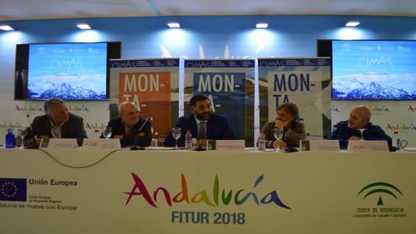 Presentación del I Congreso Internacional de las Montañas Cimas 2018 en Fitur