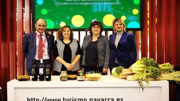 Presentación en Fitur de la Red Explora Navarra