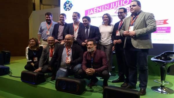 Presentación en Fitur de 'Jaén en julio'