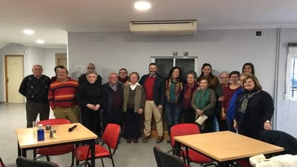 Beneficiarios de las ayudas en Villacarrillo