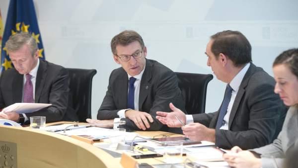10,00 H.- O Titular Do Goberno Galego, Alberto Núñez Feijóo, Presidirá A Reunión