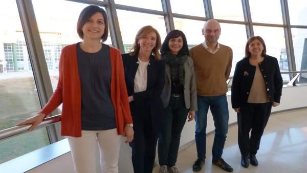 El campus de Teruel ha acogido la firma del acuerdo de Térvalis y la UZ.