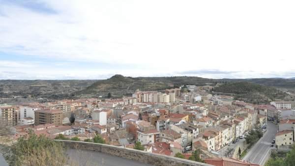 Vista general de la ciudad de Alcañiz.