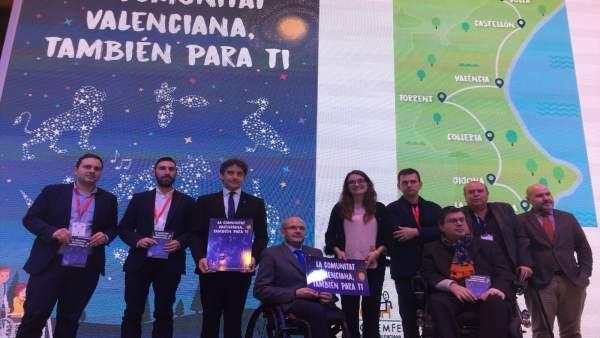 Mónica Oltra y Francesc Colomer presentan 'La C. Valenciana también para ti'