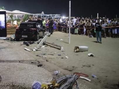 Atropello masivo en Copacabana
