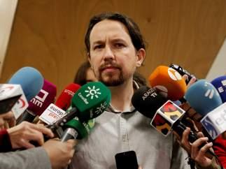 Iglesias rechaza que Puigdemont sea president desde Bélgica y reclama que haya otro candidato