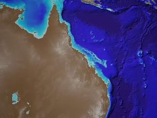 Publican los primeros mapas del lecho marino de la Gran Barrera de Coral