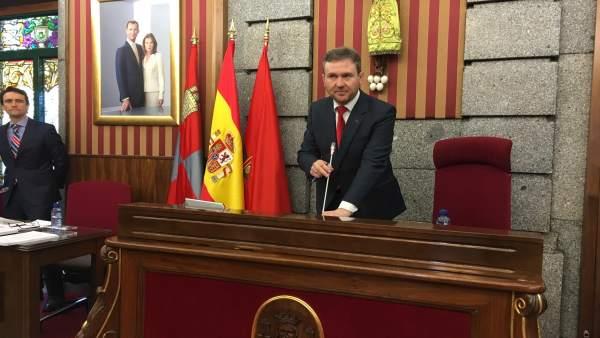 El alcalde de Burgos, Javier Lacalle