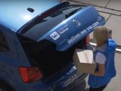'We Deliver', un servicio de Volkswagen con el que recibirás paquetes en tu coche