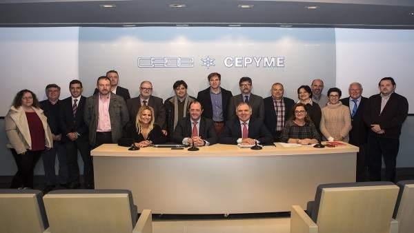 Junta Directiva de CEOE-CEPYME