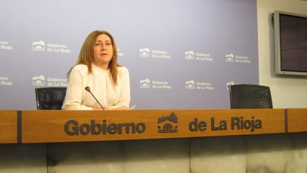 La portavoz del Gobierno, Begoña Martínez