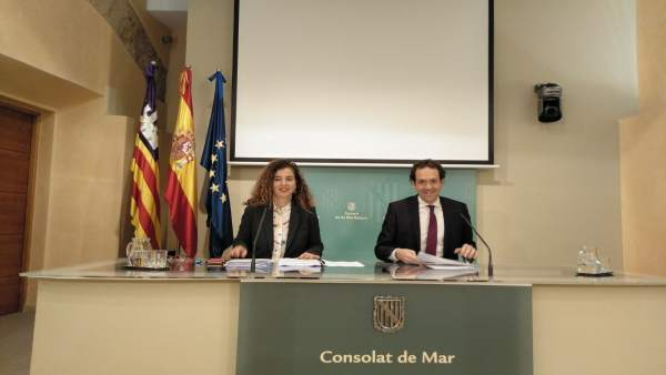Consell Govern, Pilar Costa y Marc Pons