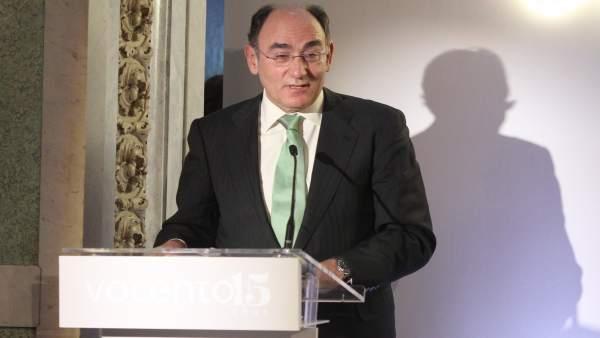 Ignacio Sánchez Galán recibe el premio al liderazgo empresarial