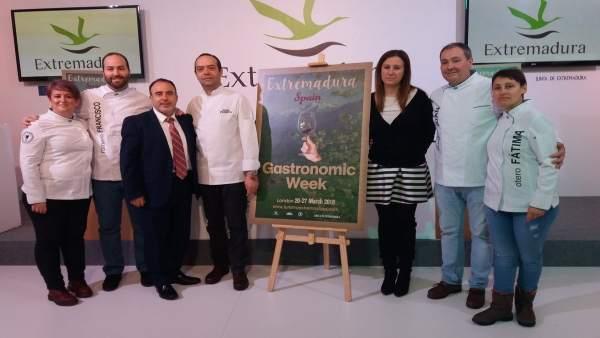 Semana Gastronómica de Extremadura en Londres