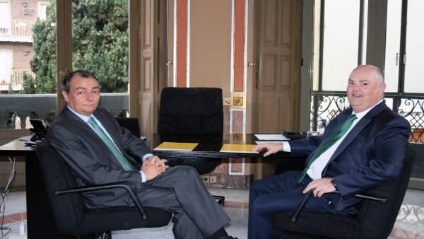Salvador Navarro y Alberto de Rosa