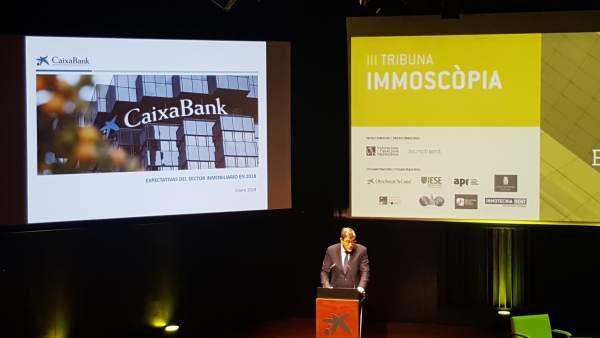 El director corporativo de CaixaBank, Carlos Casanovas