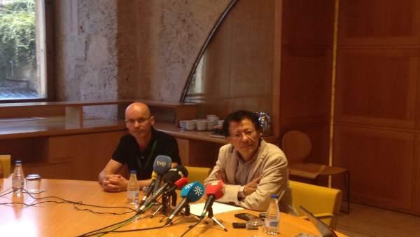 Director de la Alhambra, Reynaldo Fernández Manzano en rueda de prensa