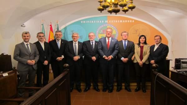 Asamblea del G9 de rectores de universidades públicas