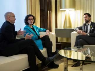 ERC reitera su apoyo a Puigdemont y pide la delegación del voto de los diputados en Bruselas