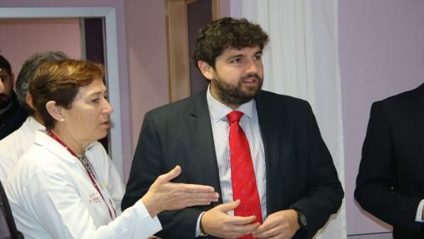 López Miras inaugura las nuevas áreas y servicios del Hospital Rafael Méndez