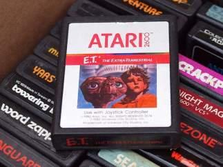 Los juegos enterrados de Atari