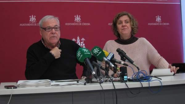 Emilio Aumente y Alba Doblas