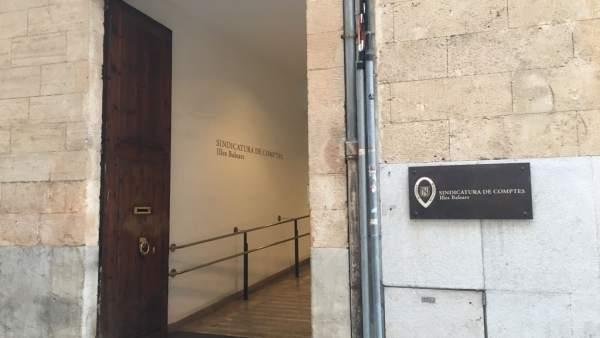 Sindicatura de Cuentas de Baleares, fachada, recurso