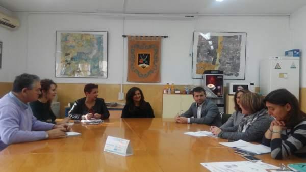 Visita al CEIP Alcalá Venceslada