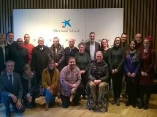 La Obra Social 'la Caixa' ha renovado la colaboración con 10 entidades sociales.