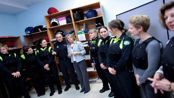 Chalecos antibalas femeninos policía local marbella