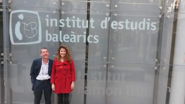 Reunión del IEB y la dirección insular de política lingüística