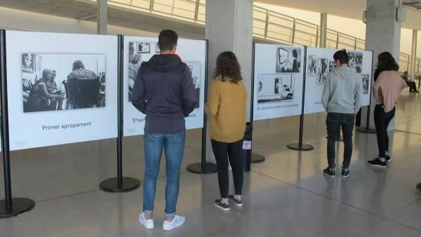 Exposición en la UIB