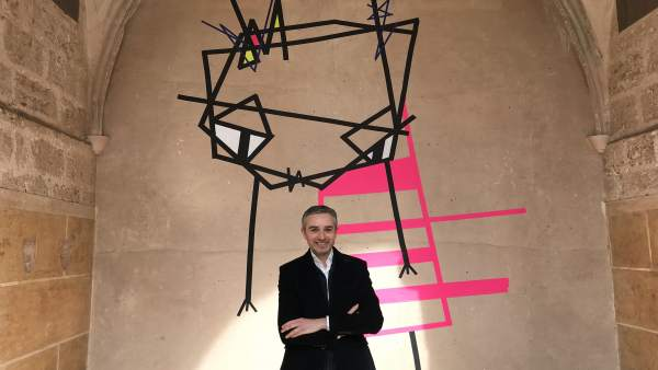 El director del Consorci de Museus, José Luis Pérez Pont, en el Centre del Carme