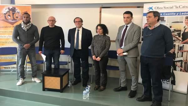Rueda de prensa sobre los programas 'Reincorpora' de La Caixa