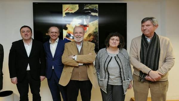 La Diputación de A Coruña homenajea a Siro López.