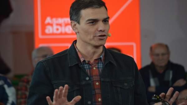 Pedro Sánchez explica aquest cap de setmana a la Comunitat Valenciana la proposta del PSOE per a garantir les pensions